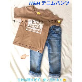 エイチアンドエム(H&M)のH&M エイチアンドエム デニムパンツ ジーンズ 80 90(パンツ/スパッツ)