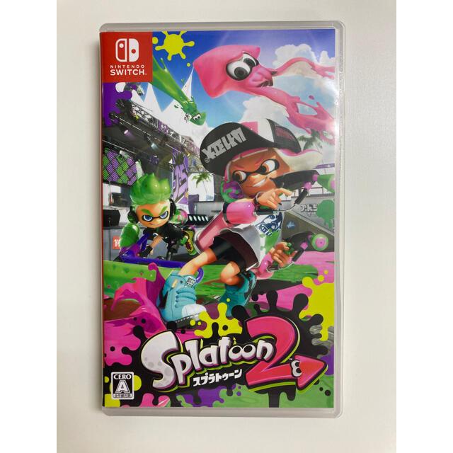 任天堂(ニンテンドウ)のスプラトゥーン2 Switch エンタメ/ホビーのゲームソフト/ゲーム機本体(家庭用ゲームソフト)の商品写真