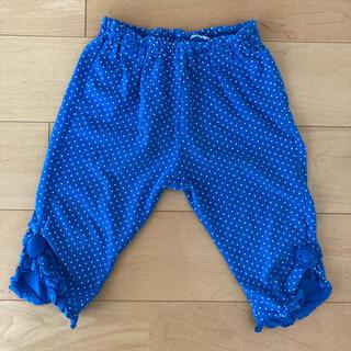コンビミニ(Combi mini)のコンビミニ☆水玉 ハーフパンツ 100センチ ブルー(パンツ/スパッツ)