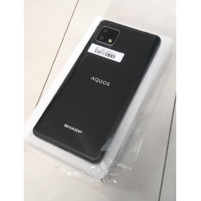 AQUOS(アクオス)の☆SHARP AQUOS sense4 lite  ブラック☆ スマホ/家電/カメラのスマートフォン/携帯電話(スマートフォン本体)の商品写真