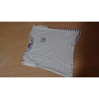バーバリーブルーレーベル(BURBERRY BLUE LABEL)のバーバリーブルーレーベル ボーダー カットソー(Tシャツ(半袖/袖なし))