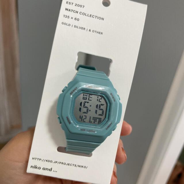 niko and...(ニコアンド)のニコアンド デジタルマルチウォッチ レディースのファッション小物(腕時計)の商品写真