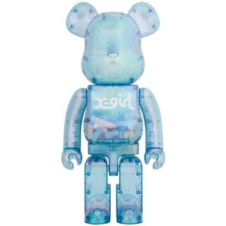 MEDICOM TOY - x-girl BE@RBRICK 1000% 2021