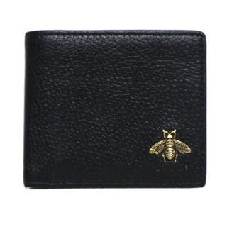 Gucci - ✨販売証明書あり✨GUCCI ビー 二つ折り財布 蜂 アニマリエ