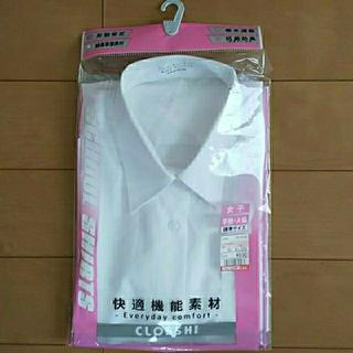 シマムラ(しまむら)の半袖  スクールシャツ  165A  女子  女児  女の子(シャツ/ブラウス(半袖/袖なし))