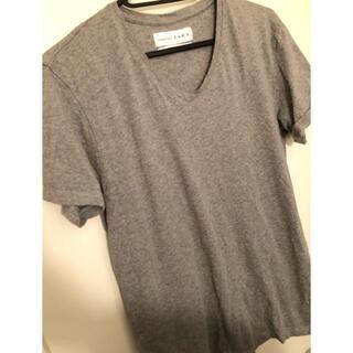 ザラ(ZARA)のグレーTシャツ(Tシャツ/カットソー(半袖/袖なし))