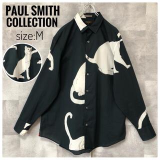 Paul Smith - 【極美品】ポールスミスコレクション 20SS キャット 総柄 長袖シャツ 日本製