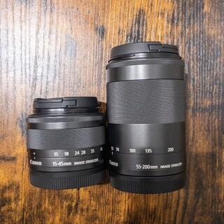 Canon - CANON kissM ダブルズームキット付属レンズ