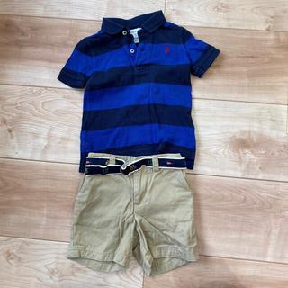 Ralph Lauren - ラルフローレン ベビー ポロシャツ ハーフパンツ 80 セット