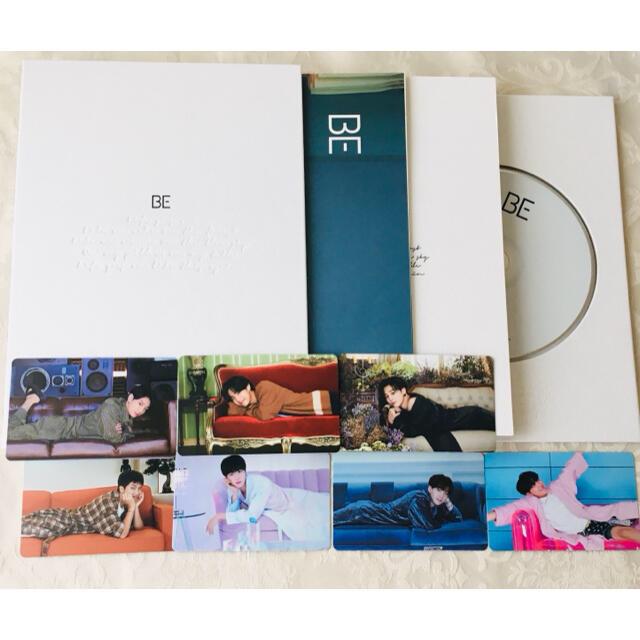 BTS BE essential edition CD アルバム トレカ付き エンタメ/ホビーのCD(K-POP/アジア)の商品写真
