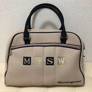 マンシングウェア(Munsingwear)の【美品】マンシングウエア ゴルフ ボストンバッグ ラウンドバッグ(バッグ)