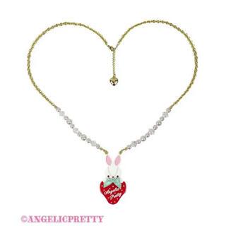 アンジェリックプリティー(Angelic Pretty)のLittle Bunny Strawberryネックレス (ネックレス)