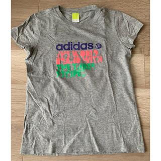 アディダス(adidas)のアディダス adidas 半袖Tシャツ Lサイズ レディース(Tシャツ(半袖/袖なし))