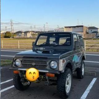 スズキ(スズキ)のジムニーJA11 デフロック クロカン 車検長いMT 機関良好(車体)
