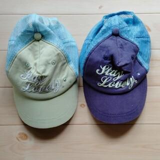 ジーユー(GU)のキャップ2個(帽子)