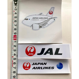 JAL 日本航空 JAPAN AIRLINES 新品ステッカー 写真参照セット(航空機)