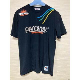 アスレタ(ATHLETA)のPANTANAL パンタナール 半袖Tシャツ・黒 メンズL(Tシャツ/カットソー(半袖/袖なし))