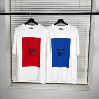 Jil Sander - JIL SANDER ロゴ プリント コットン Tシャツ 2点セット