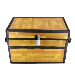 マインクラフト チェスト Minecraft グッズ ふた付収納ケース簡易整理箱(ケース/ボックス)