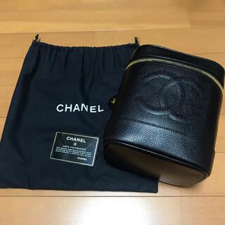 CHANEL - 美品 シャネル バニティポーチ