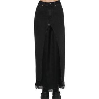 エムエムシックス(MM6)のMM6 デニムロングスカート(ロングスカート)