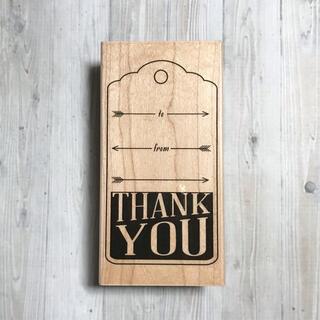 Thank You with Arrows スタンプ(印鑑/スタンプ/朱肉)