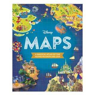 ディズニー(Disney)のDISNEY MAPS(洋書)