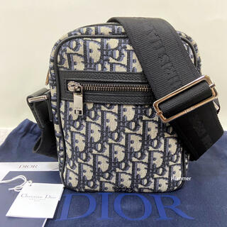 ディオール(Dior)の国内正規品 極美品 ディオール 2021 ジャカード メッセンジャー バッグ!(メッセンジャーバッグ)