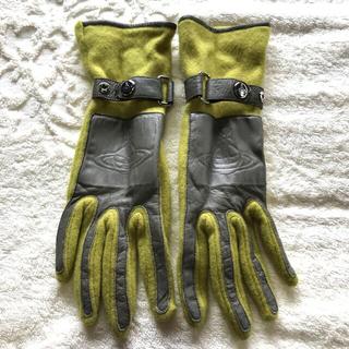 Vivienne Westwood - ビビアン 手袋 グリーン 黄緑色 レディース