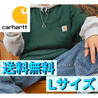 carhartt - 【新品未使用品★Lサイズ】カーハート★Tシャツ★グリーン