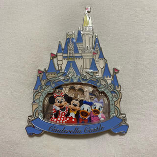 ディズニー(Disney)のフォトフレーム シンデレラ城 写真立て フォトスタンド(フォトフレーム)