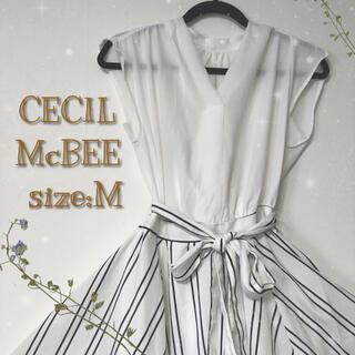 CECIL McBEE - ★ セシルマクビー ドッキングワンピース ★