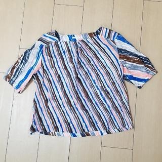ミナペルホネン(mina perhonen)のミナペルホネン トップス crayonniste 38(Tシャツ(半袖/袖なし))