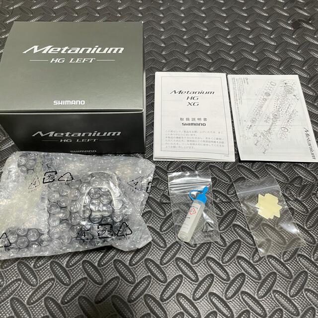 SHIMANO(シマノ)の20メタニウムHG Left スポーツ/アウトドアのフィッシング(リール)の商品写真
