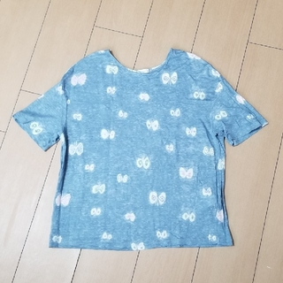 ミナペルホネン(mina perhonen)のミナペルホネン hanahane トップス 38(Tシャツ(半袖/袖なし))