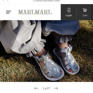 Caramel baby&child  - マルマール marlmarl サンダル Salt Water Sandals