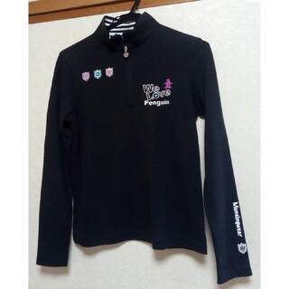 Munsingwear - マンシングウェア レディース 長袖 ブラック サイズM