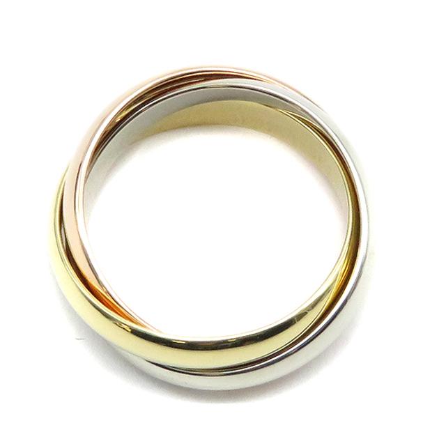 Cartier(カルティエ)のカルティエ  リング 指輪  トリニティ    ゴールド レディースのアクセサリー(リング(指輪))の商品写真