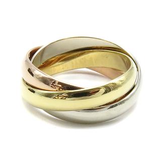 Cartier - カルティエ  リング 指輪  トリニティ    ゴールド