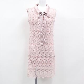 ザラ(ZARA)の新品未使用 ハート柄 ドレス ワンピース(ミニワンピース)
