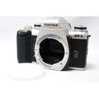 ペンタックス(PENTAX)のPENTAX MZ-3 シルバー フィルムカメラ(フィルムカメラ)