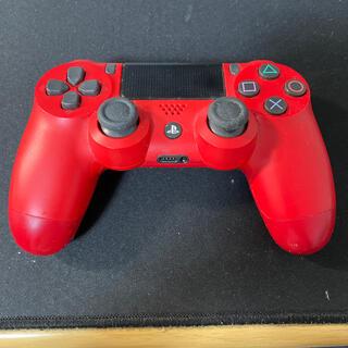 PlayStation4 - DUALSHOCK4 PS4 純正コントローラー 赤