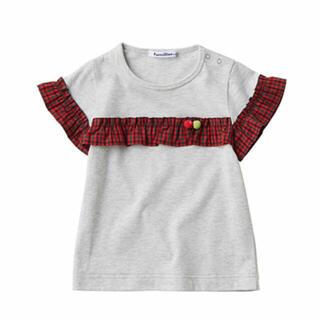 familiar - 🍎美品ファミリア  人気 ファミリアチェック Tシャツ 110✨