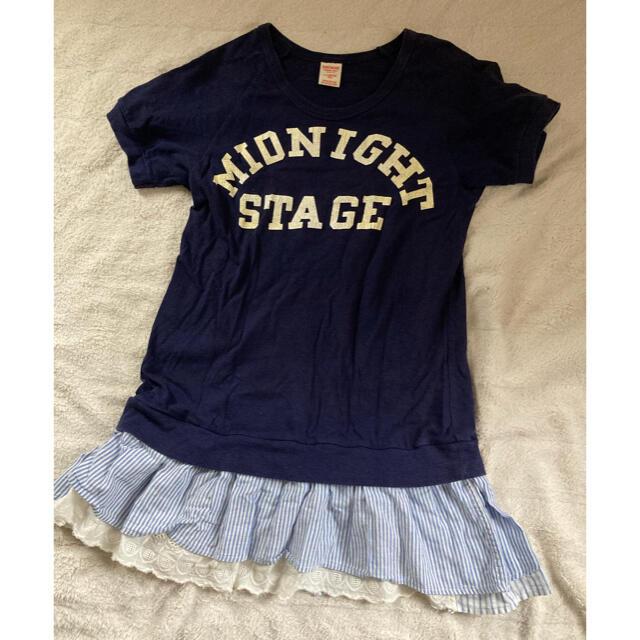 DENIM DUNGAREE(デニムダンガリー)のデニム&ダンガリー カットソー 160cm キッズ/ベビー/マタニティのキッズ服女の子用(90cm~)(Tシャツ/カットソー)の商品写真