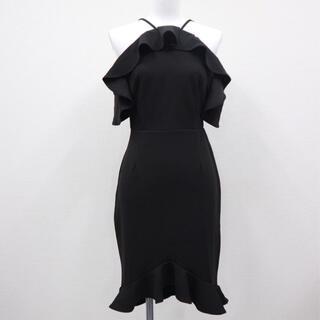 デイジーストア(dazzy store)の新品未使用 ブラックドレス ミニドレス(ミニドレス)