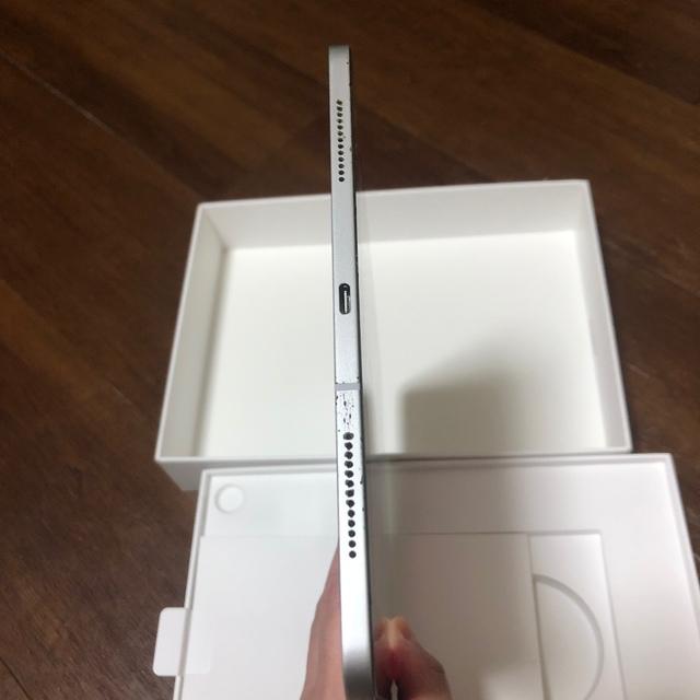 Apple(アップル)のipad pro 11(2018)64Gシルバー 支払い確認後当日発送 スマホ/家電/カメラのPC/タブレット(タブレット)の商品写真