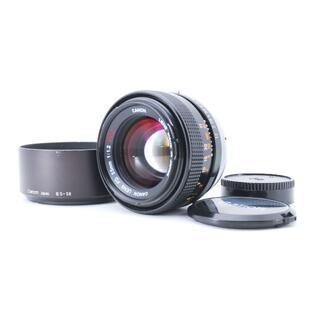 キヤノン(Canon)の良品 CANON FD 55mm F1.2 S.S.C. フード付き (レンズ(単焦点))