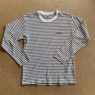 モンベル(mont bell)のモンベル ボーダーロンT Mサイズ(Tシャツ/カットソー(七分/長袖))