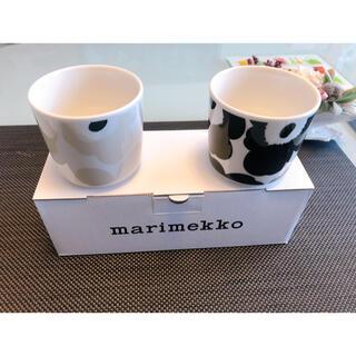 marimekko - マリメッコ ウニッコ ラテマグ 2個 marimekko UNIKKO
