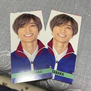 ジャニーズ(Johnny's)のMyojo 6月号 田中樹 メッセージカード(アイドルグッズ)